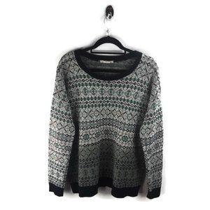 Anthro Coincidence & Chance Knitted Sweater L